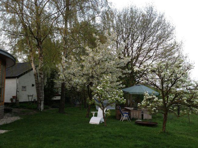 Tuin bij B&B Wachtpost 29
